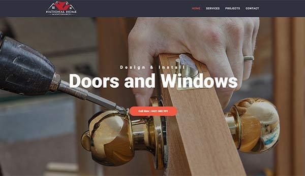 Tradie website design melbourne