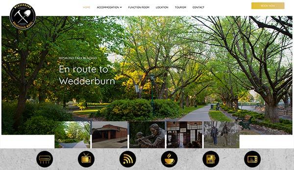 Motel website design